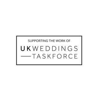 Supporting the amazing work of.... #ukweddingstaskforce @uk_weddingsorg #weddingstaskforce