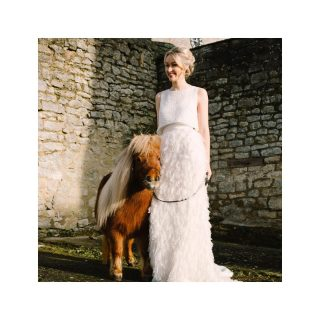 We are all in need of a photo of a bride with a pony right ?! ❤️  #pony #bride #wedding #bridehair #weddinghair #weddingmakeup #covidwedding #weddingdress #makeupartist #hairstylist