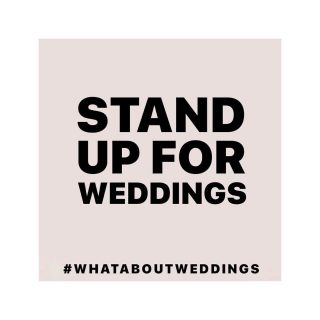Joining in today's campaign led by some of the most well respected professionals in our industry. An industry I love being a part of and feel so grateful to be in. This last year for so many has been so hard.  Weddings have been hit especially hard, I have gone from well over 60 weddings a year to less than 10 like so many of my industry colleagues.  I feel for my couples who have had to hit the pause button on their lives and plans to celebrate their love.  #roadmap #weddings #whataboutweddings   #repost @lovemydress Today we ask our global community to please post this image, and all join together across social media to stand up for weddings.   Stand up for weddings. Stand up for engaged couples. Stand up for suppliers and venues. Stand up for creatives. Stand up for culture. Stand up for society. Stand up for artists. Stand up for your friends or family.   The global wedding industry employs millions of people in every corner of the world. It is dominated by female led businesses who contribute billions to economies. It creates millions of memories in the minds and hearts of people in every part of society.   In most countries we are still heavily restricted or banned from working during the pandemic. In the U.K. we have been closed in all but name since March 2020 without any meaningful or targeted financial support. Couples have not been told when they can marry again, or in what capacity.   We ask our leaders for financial support and guidance on reopening. We must not lose our talent. We must not lose livelihoods. We must not forget the importance of love and commitment.   Will you and all your followers please stand. Encourage others to join in. Tag your guests and supplies, your colleagues and your friends. Tell your story. Let's ensure we are seen and heard.   STAND UP.  Stand up for weddings. 💕  #standupforweddings #whataboutweddings